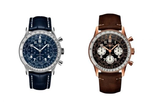 Breitling Brings Back the 1959 Navitimer in Two Precious Metals