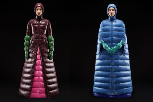Those puffer coat gowns are no joke: They're selling out now