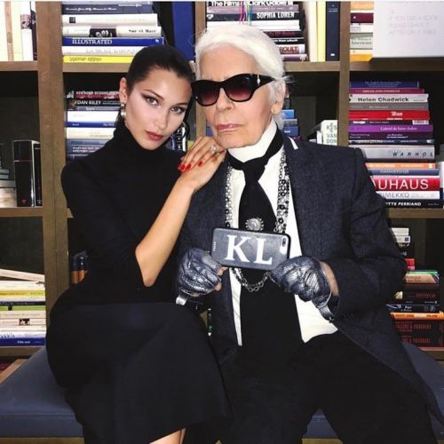 Donatella, Kim Jones, Bella Hadid, and more pay tribute to Karl Lagerfeld