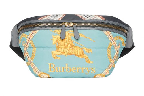Burberry Pulls out Another Archive Scarf for This New Printed Belt Bag