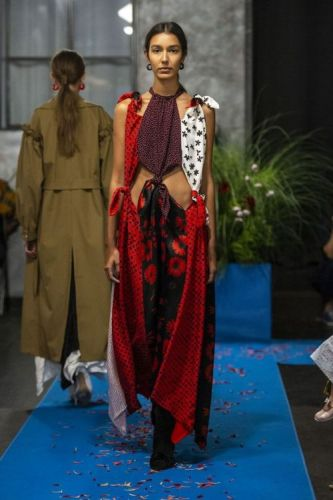 Spring 2019 Collections Unfold at NYFWA sneak peak at looks that