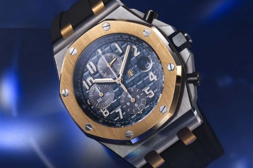 Audemars Piguet's Royal Oak Offshore Chronograph Joins the Bucherer Blue Collection