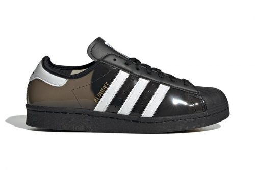 Blondey and adidas Ready Fourth See-Through Superstar Collaboration