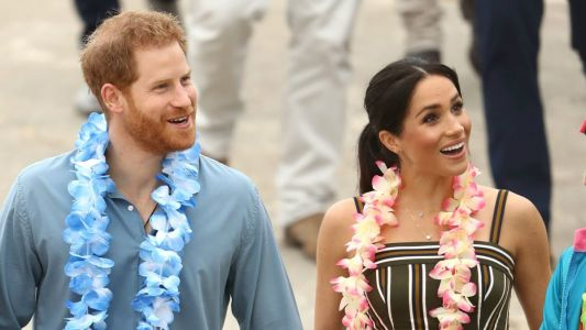 Meghan Markle Wore a Thing: Martin Grant Maxi Dress in Australia Edition