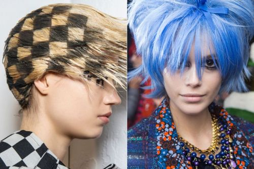 Runway Haircolor Went More Madcap Than Mainstream