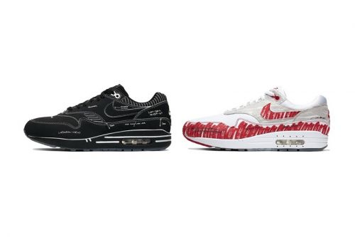 """Official Imagery of Nike Air Max 1 """"Sketch to Shelf"""" and """"Schematic"""""""