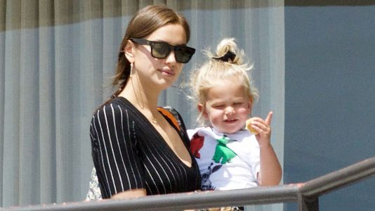 Mommy Duty! Irina Shayk Takes Her Daughter Lea to Art Class in Los Angeles