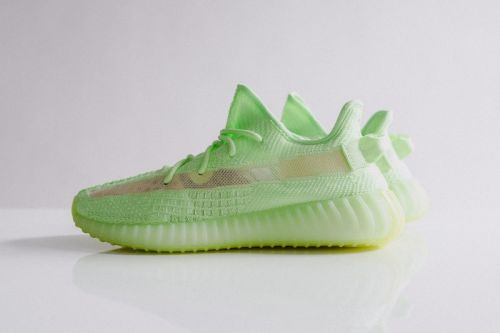 "Don't Miss Out on the adidas YEEZY BOOST 350 V2 ""Glow-In-The-Dark"