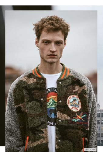 Dane Bell Embraces Outdoors Style in POLO Ralph Lauren for East Dane