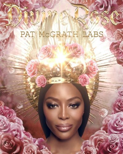 Naomi Campbell has been crowned the saintly first face of Pat McGrath Labs