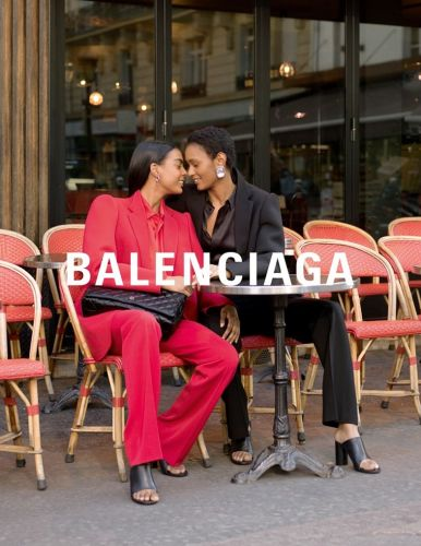 Balenciaga's latest campaign stars? Real life Parisian lovers