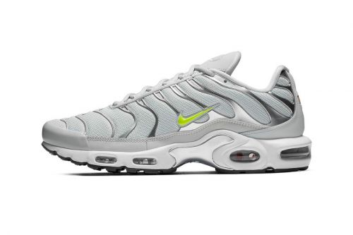"""The Nike Air Max Plus Arrives in a """"Grey/Volt"""" Colorway"""