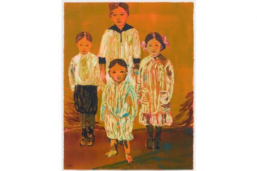"""Claire Tabouret Explores the Familial Relationship in """"Siblings"""" Exhibition"""