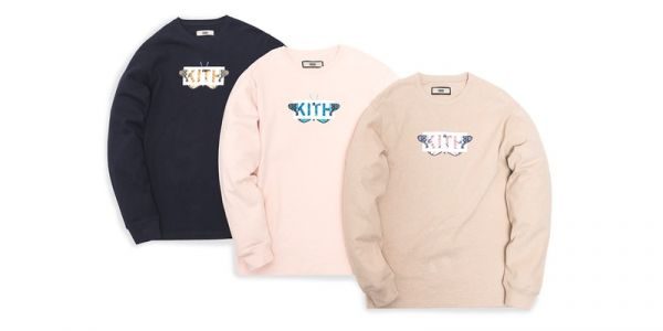 "KITH To Drop ""Monarch"" Crewnecks"
