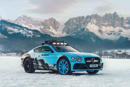 Bentley Prepares Its Continental GT for Races in the Snow