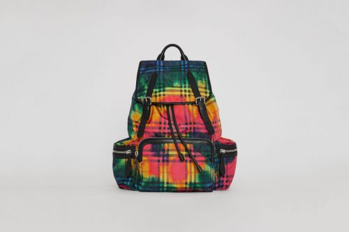 Burberry's Vintage Check Rucksack Gets Treated in Tie-Dye