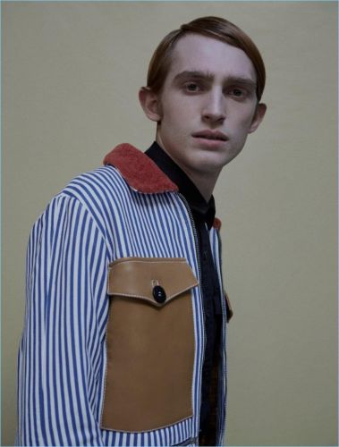 Charlie Ayres-Taylor Models Uniform Style for Neo2