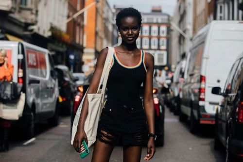 See what the models are wearing off-duty during London Fashion Week!
