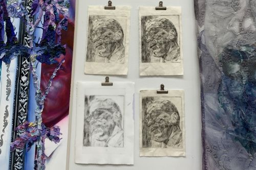 Learn How to Make a Drypoint Etching With Nikkolos Mohammed's Expert Methods