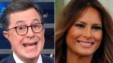 Colbert Breaks Out Striking New Melania Impression, And The Audience Loses It
