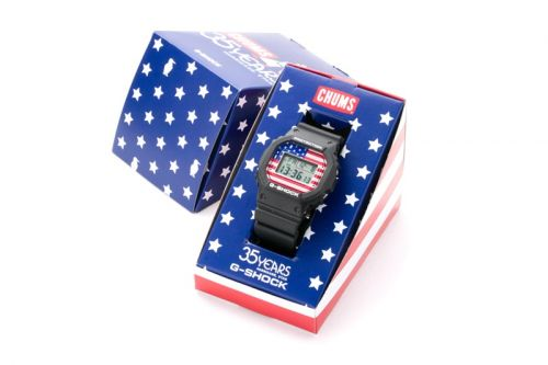 CHUMS Joins Casio For All-American G-SHOCK DW-5600