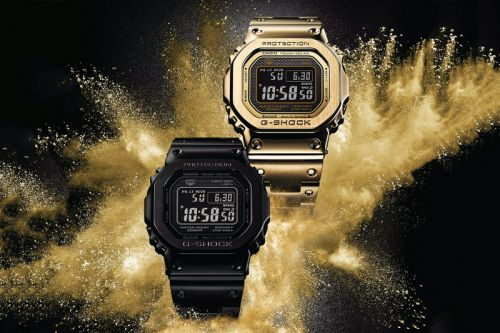 "G-SHOCK Adds New Models to Its ""Full Metal"" 5000 Collection"