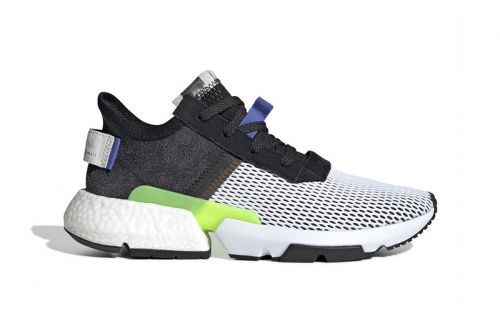 """Adidas Gives the POD-S3.1 """"Core Black/Real Lilac"""" a Mesh Upper"""