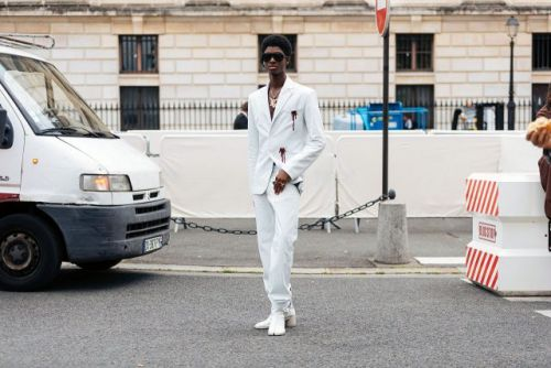 See what the models are wearing off-duty in Paris: Days 3-4
