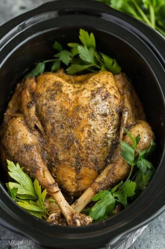 17 Slow-Cooker Turkey Recipes That Feed A Crowd