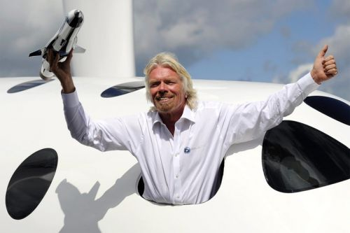 "Richard Branson Says He Is Traveling to Space with Virgin Galactic ""in Months"""