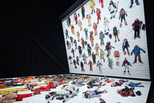 The most insane moments from Moncler's fashion exhibit