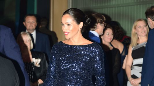 Meghan Markle Wore a Thing: Sequined Roland Mouret Gown Edition