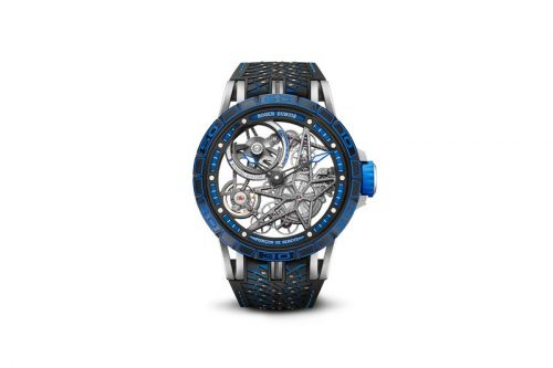 Roger Dubuis Teams Up With Pirelli for an Icy Limited-Edition Excalibur