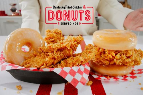 KFC's Fried Chicken & Donuts Is Now Launching Nationwide