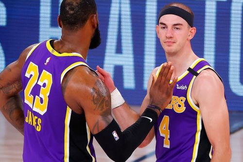 Lebron James and Netizens React to Alex Caruso's Weed Arrest