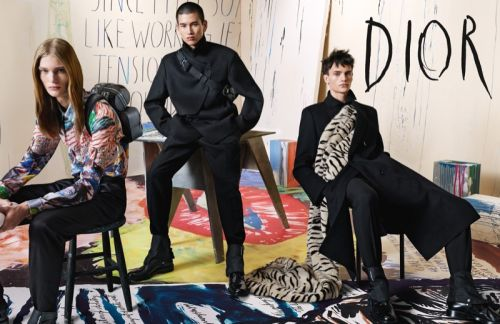 Dior Men Goes Artsy for Fall '19 Campaign