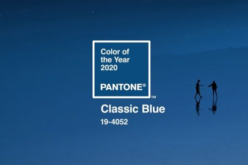 "Pantone Hails ""Classic Blue"" as Color of the Year 2020"