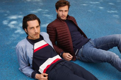 Guillaume Macé & Francisco Lachowski Gear Up for Fall in Esprit