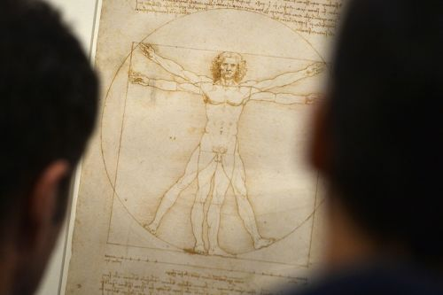 Leonardo da Vinci's 'Vitruvian Man' Drawing Is Too Risky for the Louvre to Exhibit