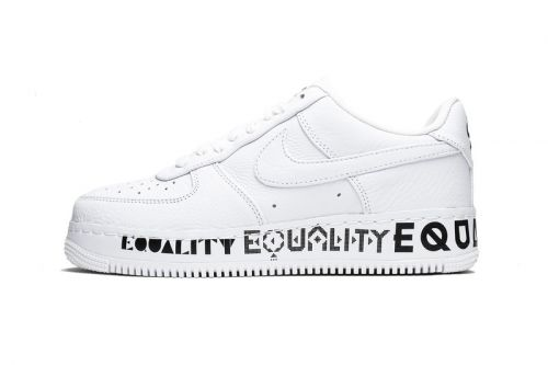 """Nike Sends a Message With the Air Force 1 Low CMFT """"Equality"""""""