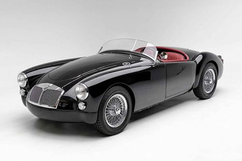 A Fully-Restored 1961 MGA Outlaw Will Showcase At The Annual Petersen Automotive Museum Digital Gala