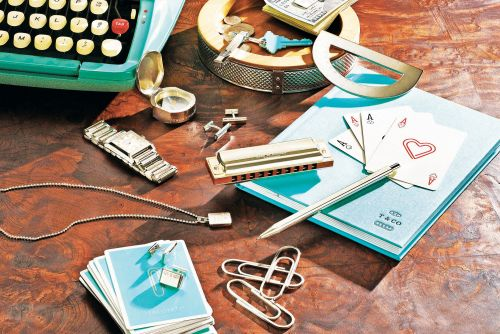 Office supplies get fancy with Tiffany's elegant desk collection