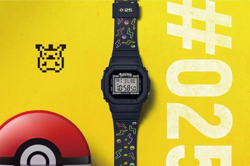 Casio G-SHOCK Celebrates BABY-G's 25th Anniversary With Pikachu Collab
