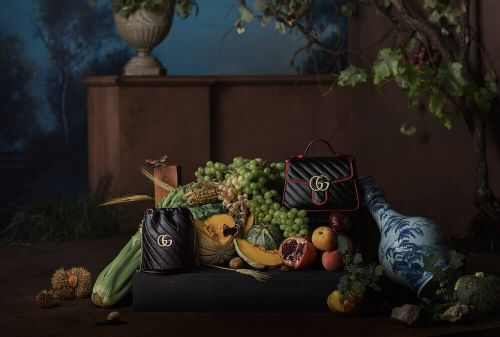 Going Dutch: Gucci's New GG Marmont Campaign Is An Ode To Still Life Paintings