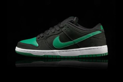 """Nike Adds a """"Pine Green/Black"""" SB Dunk Low Pro to J-Pack Series"""