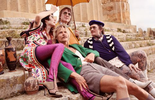We're Off To The Greek Part of Sicily With Gucci's Latest campaign