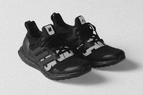 "UNDEFEATED Preps the adidas UltraBOOST 1.0 ""Blackout"" for an Official Release"
