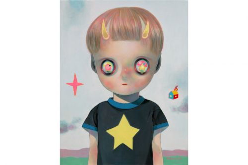 Hikari Shimoda's Starry-Eyed Characters Spotlighted in Major Japan Exhibit