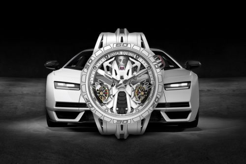 Roger Dubuis Gets Behind The Wheel of Lamborghini Countach With Twin Tourbillon Limited Edition