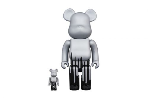 KRINK & Medicom Toy Release Paint-Dripping BE RBRICK Figure